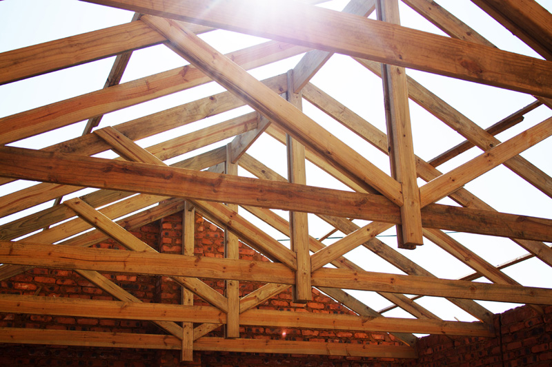 Seacon roofing for Exposed roof trusses images
