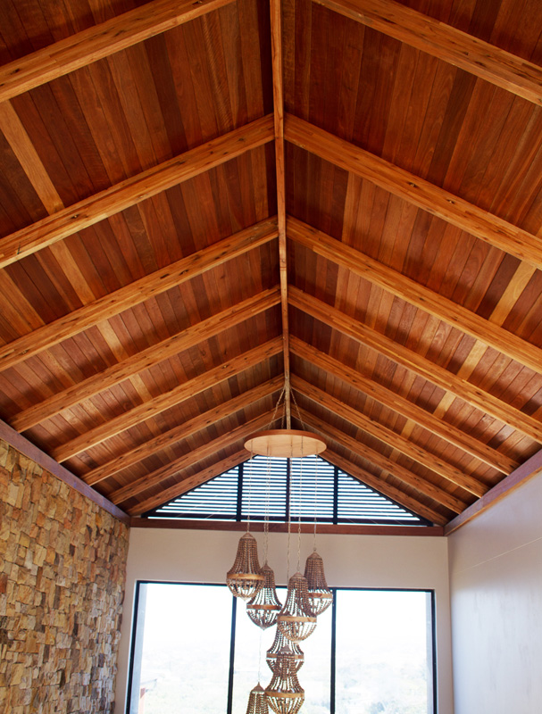 Exposed Glulam Beams ~ Seacon roofing